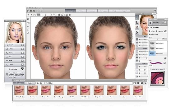 программа для макияжа для фото скачать бесплатно - фото 2